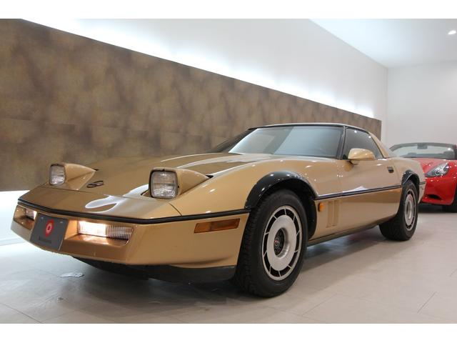 シボレー シボレーコルベット ベースグレード オンライン商談可 V8 1984y Crossfire 1st Model タルガTOP