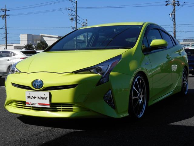 トヨタ S Toyota Safety Sense LEDヘッドランプ トヨタ純正SDナビゲーションDSZT-YC4T 360EYEドラレコ 純正ビルトインETC RS-Rダウンサス バックカメラ 19AW