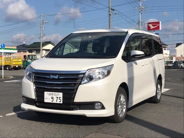 トヨタ ノア G 4WD ETC ナビTV バックモニター
