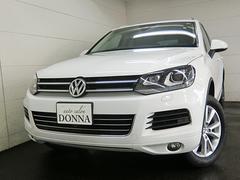 VW トゥアレグV6 BMT アップグレードPKG ナビ地デジ ワンオーナー