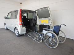ムーヴスローパー 車椅子仕様スロープ 車高調整機能 ナビ地デジ
