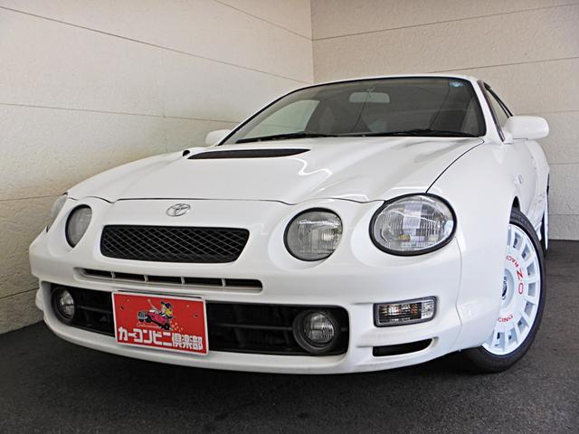 トヨタ GT-FOUR 4WDターボ OZアルミ 車高調 ナビ地デジ