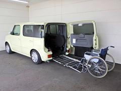 キューブチェアキャブ 車椅子スロープ 固定装置 カーナビ付