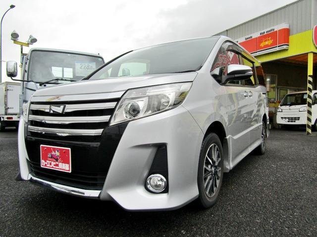 トヨタ ノア Si ナビTV 後席モニター 7人乗り パワースライドドア アイドリングストップ 4WD