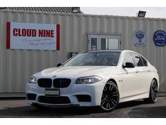 BMW528i M5仕様 外20AW 四本出マフラー リアスポ