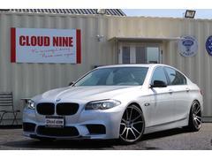 BMW528i M5仕様 SR 黒革 3Dデザインマフラー 左H