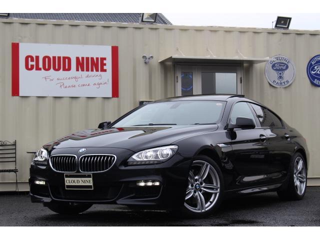 BMW 640iグランクーペ MスポーツPKG SR 記録簿1オーナ