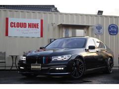 BMW740i SR 白革 全新品カスタム D記録簿 純ナビ地デジ