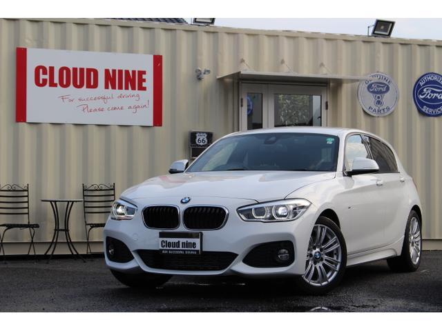 BMW 1シリーズ 118d Mスポーツ ワンオーナー 保証書 ディーラー記録簿29年、30年、31年 ドラレコ スペアキー 禁煙車 当社下取り直販車 インテリジェントセーフティ レーンディパーチャーウォーニング