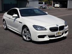 BMW640iクーペ Mスポーツ 純正ナビ地デジ サンルーフ