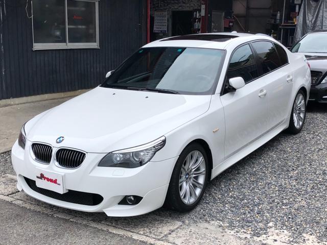 BMW 5シリーズ 525i Mスポーツパッケージ 左ハンドル サンルーフ
