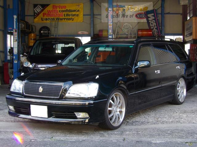 トヨタ アスリートV ガラスサンルーフ 車高調 19AW ETC