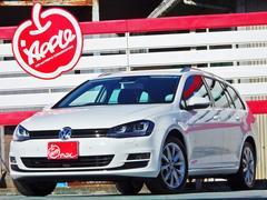 VW ゴルフヴァリアントTSIハイラインブルーモーションテクノロジー純正ナビ 禁煙車