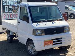 ミニキャブトラックベースグレード 保証付き タイミングベルト交換済み 車検令和4年1月 走行40661km 三方開き 5MT AMラジオ