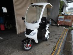 日本1人乗り三輪ミニカー 梵天 屋根付き 普通免許OK
