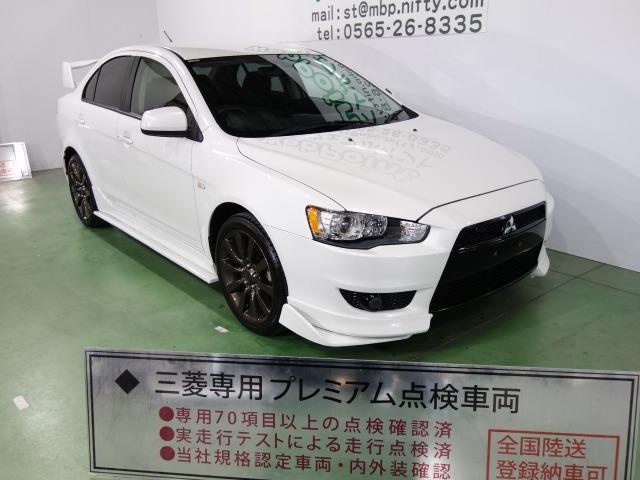 三菱 スポーツ ナビパッケージ エボX仕様 ブラックグリル