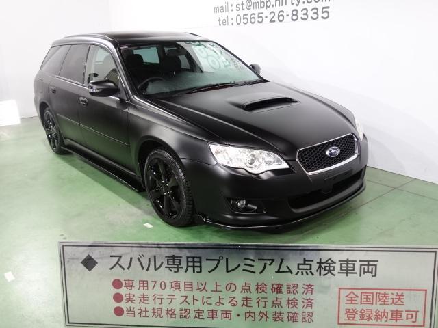 スバル 2.0GT 色替車 マッドブラック レーシングフラップエアロ Fエアロリップ  ブラック17AW HDDナビ HID  CD キーレス