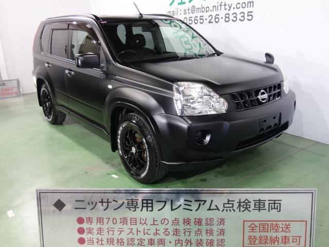 日産 20X 色替車 マットブラック レザーシート ブラック16AW HDDナビ スマートキー ETC