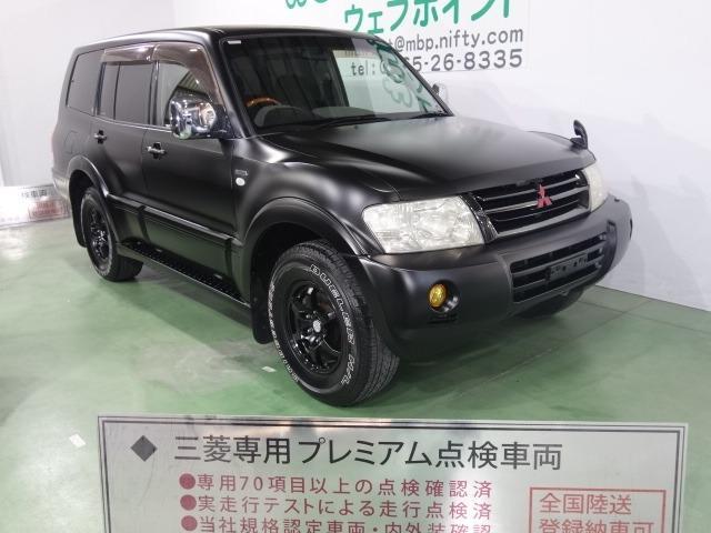 ロング エクシード 色替車 マットブラック ブラックグリル ブラック16AW HDDナビ Bカメラ キーレス