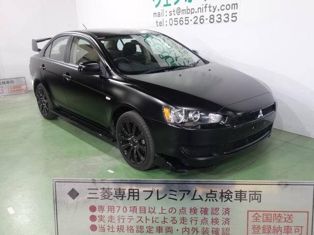 スーパーエクシード 色替車 マットブラック エボX仕様 ブラックグリル Fエアロリップ 大型ウイング ブラック18AW HDDナビ スマートキー クルコン CD