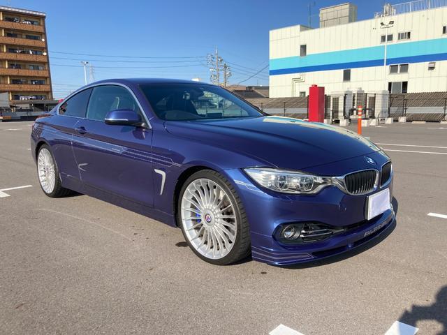 BMWアルピナ ビターボ クーペ ワンオーナ LEDヘッドライト 20インチAW メリノレザー内装 レーンチェンジウオーニング ハーマンカードン ラヴァリナステアリング ノンスモーカーPKG