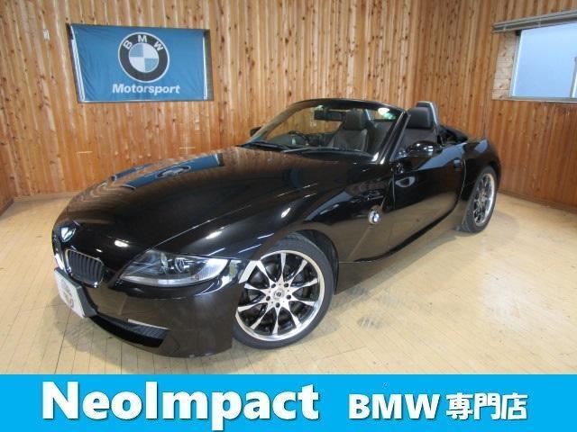 BMW Z4 ロードスター2.5i ブラックレザー シートヒーター18インチアルミ ETC