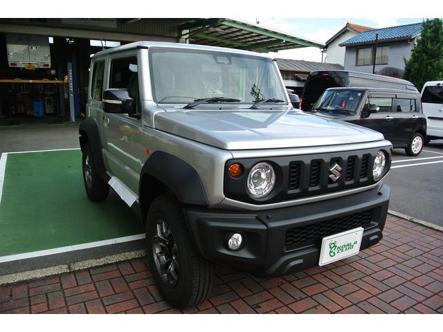 スズキ JC 5MT 4WD セーフティーサポート 届出済み未使用車