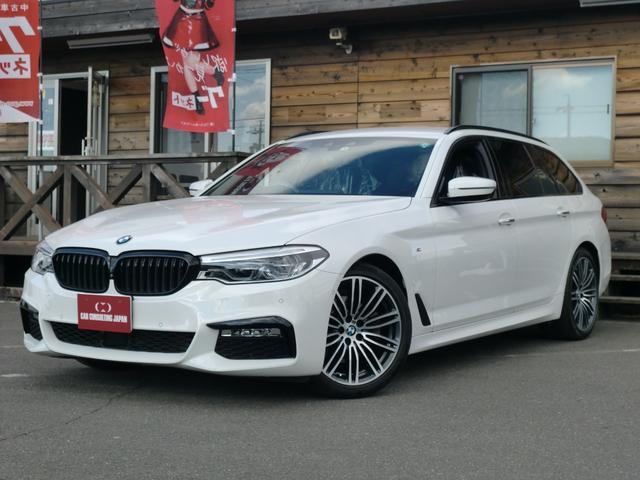 BMW 523dツーリング Mスポーツ 1オーナー・HDDナビ・フルセグ・Bカメラ・LEDヘッド・ETC・19AW・パワーバックドア・パノラマビューモニター・クルコン・インテリジェントセーフティー・スマートキー・Pスタート・ブラックグリル