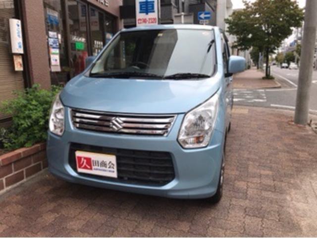 スズキ FX ナビTV CD DVD USBケーブル アイドリングストップ キーレス 社外アルミホイール 車検令和5年9月