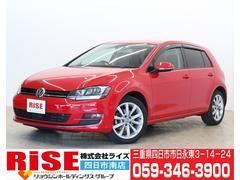 VW ゴルフTSIハイラインBMテクノロジー禁煙車・1オーナー・純正ナビ