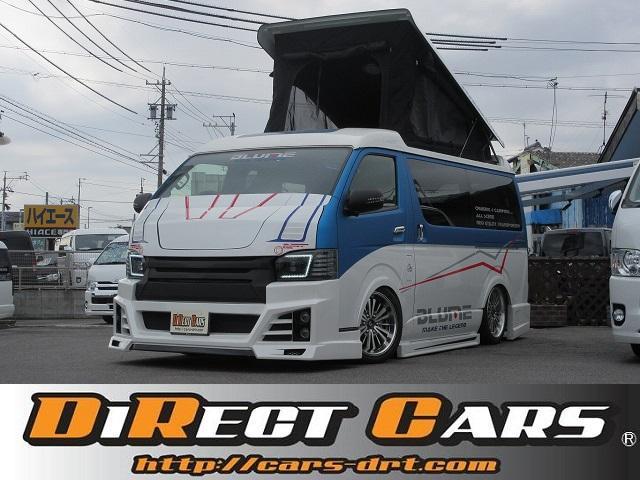 トヨタ デモカーPOPアップルーフ3ナンバー乗用キャプテンシート