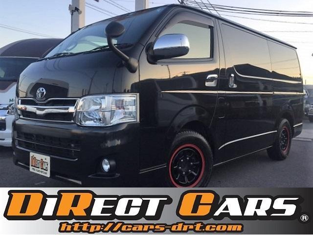 トヨタ SーGLオリジナル内装張替え車両・HID・ベット・HDD