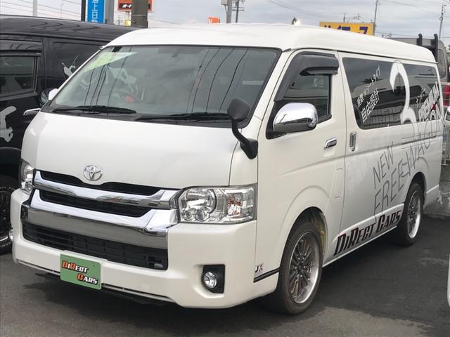 トヨタ GL 3No乗用登録済みデモカー 7人乗 ベッド 車中泊仕様