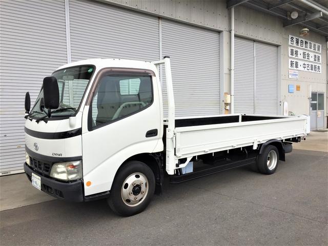 トヨタ 標準キャブ ロングデッキ低床積載2トン 4Lディーゼル MT