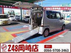 N BOX+G 車椅子仕様車 電動ウインチ