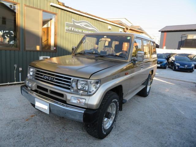 トヨタ ランドクルーザープラド EX5 4WD 社外パーツ多数 ノーマルパーツ有り サンルーフ 検付 ディーゼルターボ