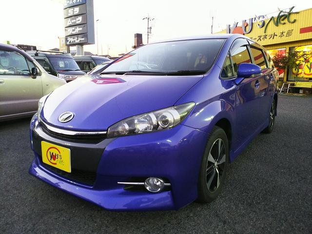 「トヨタ」「ウィッシュ」「ミニバン・ワンボックス」「愛知県」の中古車