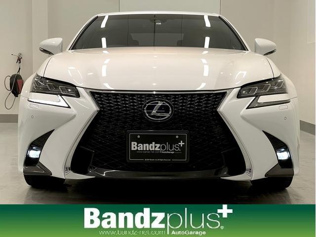 レクサス GS GS300h Fスポーツ 3眼LEDヘッドライト/サンルーフ/衝突軽減システム/バックカメラ/純正ナビシステムBluethooth/フルセグ対応/シートヒータ/ベンチレーション/クリアランスソナ/1オーナーディーラー整備車