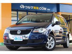 VW ゴルフトゥーランTSI トレンドライン 禁煙1オーナー HDDナビ Bカメラ