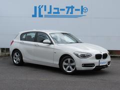 BMW116i スポーツ HIDヘッド 純正ナビ Bカメラ