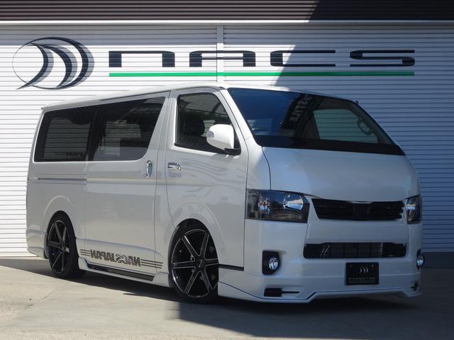 トヨタ S-GLDプライム NACSエアロデモカープライムゴールド
