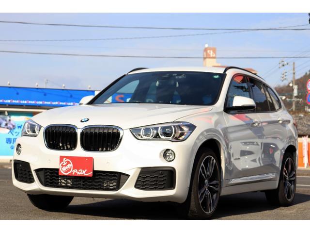 BMW X1 xDrive 18d MスポーツハイラインPKG ワンオーナー車輌 鑑定車輌 ハイラインパッケージ コンフォートパッケージ 電動レーザーシート シートヒーター 純正オプション19インチアルミ バックカメラ パワーバックドア 禁煙車