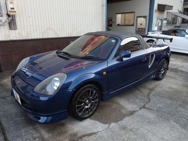 トヨタ Sエディション エレガントSPG・5MT・社外ステアリング・社外CDデッキ・純正エアロ・GTウイング・社外マフラー・社外16インチアルミ・ヘリカル式LSD・