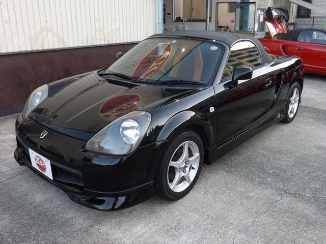 トヨタ MR-S Sエディション エレガントスポーツPKG・5MT・TRD製クイックシフト・ケンウッド製CD・フジツボ製マフラー・純正アルミ・フロントラゲッジボックス・