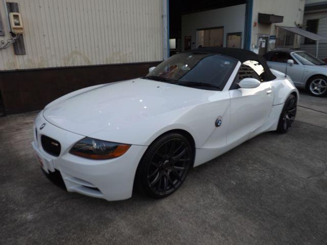 BMW Z4 2.2i NKB製フロントバンパー/リアフェンダー/リアスポイラー/19インチアルミ・ETC車載器・キーレス・GPSレーダー・