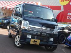 エブリイワゴンPZターボスペシャル HID 1オーナー両側電動スライドドア