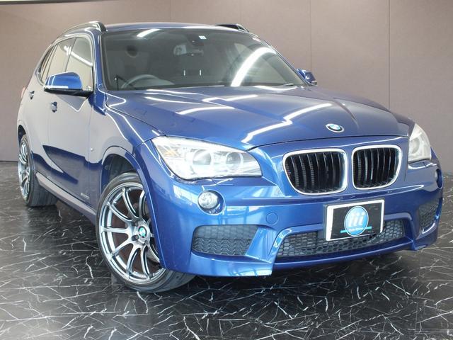 BMW X1 sDrive 20i Mスポーツ 全国走行距離無制限6か月保証 ナビ 19インチアルミ HID ETC バックカメラ 専用シート 専用ハンドル