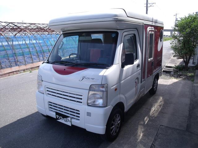 スズキ インディ727 軽8ナンバー キャンピングカー