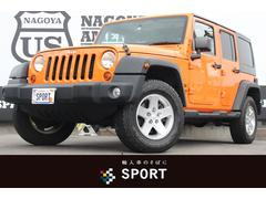 クライスラージープ ラングラーアンリミテッドスポーツ 地デジナビ Bカメ クルコン ETC 4WD