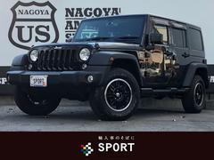 クライスラージープ ラングラーアンリミテッドスポーツ 地デジナビ クルコン ブラックホイール 4WD